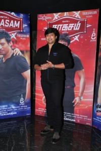 Actor Prashanth @ Saahasam Movie Preview Show Stills