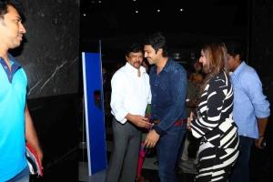 Thiagarajan, Srikanth, Vandana @ Saahasam Movie Preview Show Stills