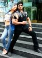 Amanda, Prashanth in Saahasam Movie Stills