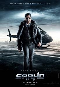 Actor Arun Vijay as Vishwank in Saaho Movie Character Posters