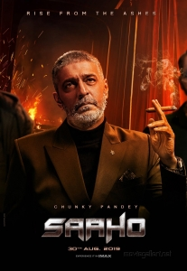 Actor Chunky Panday as Devraj in Saaho Movie Character Posters
