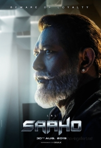 Actor Lal as Ibrahim in Saaho Movie Character Posters HD