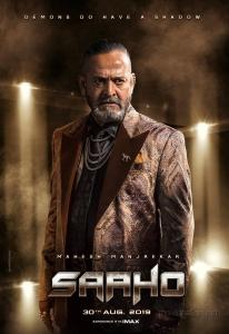 Mahesh Manjrekar as Prince in Saaho Movie Character Posters HD
