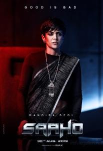 Mandira Bedi as Kalki in Saaho Movie Character Posters HD