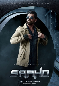 Neil Nitin Mukesh in Saaho Movie Character Posters