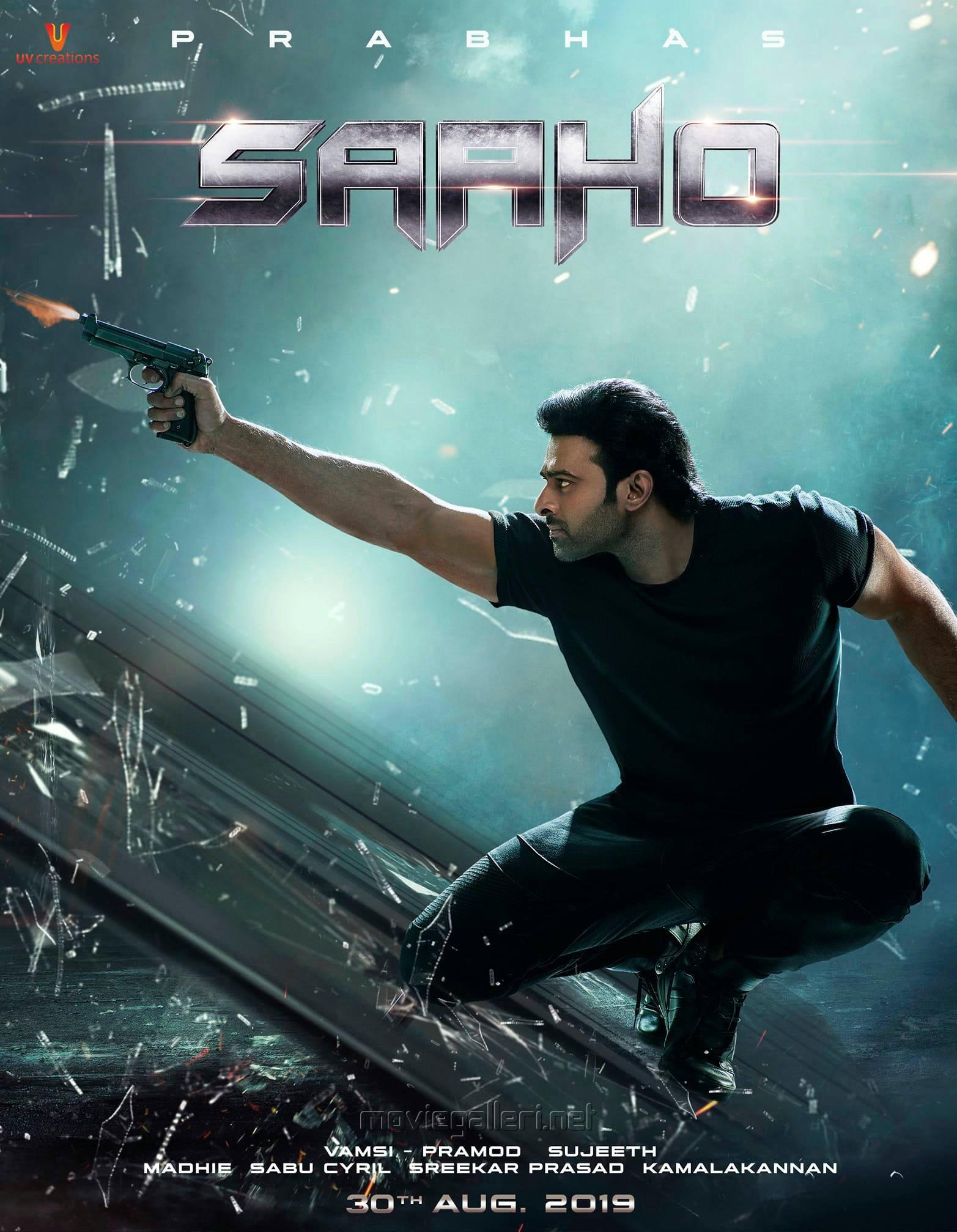 Prabhas in Saaho Movie Latest Posters HD