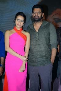 Shraddha Kapoor, Prabhas @ Saaho Movie Media Meet Photos