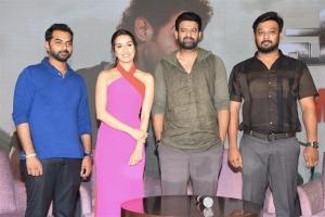 Saaho Movie Media Meet Photos