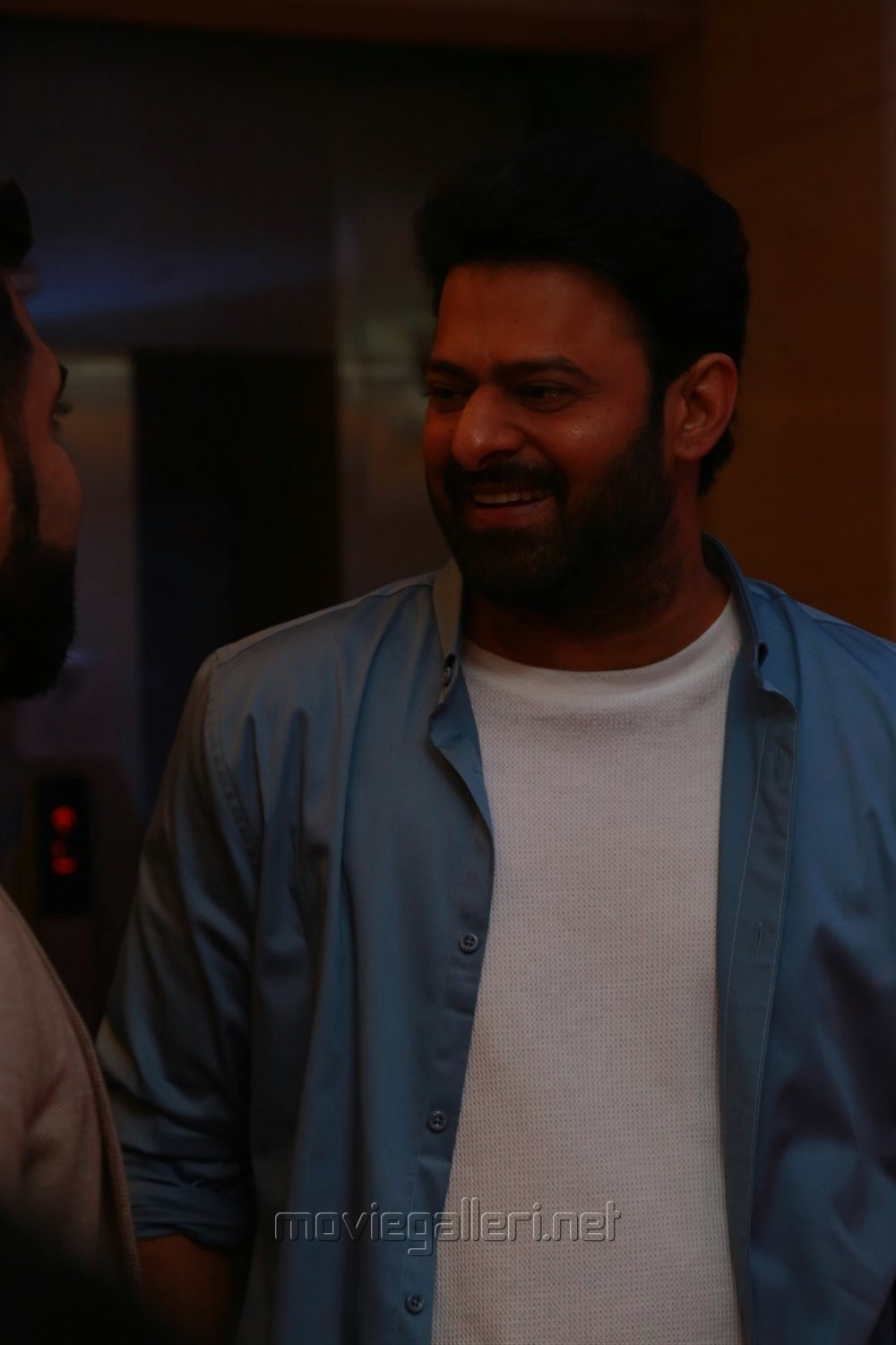 Actor Prabhas @ Saaho Movie Press Meet Chennai Stills