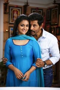 Keerthy Suresh, Vikram in Saamy 2 Movie Stills HD