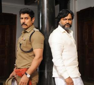 Chiyaan Vikram, Bobby Simha in Saamy 2 Movie Stills HD