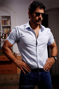 Chiyaan Vikram @ Saamy² Movie Pooja Stills