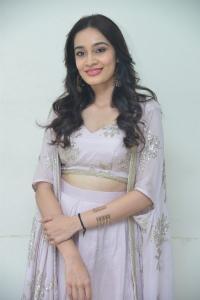 Actress Saathvika Raj Photos @ Neetho Trailer Launch.