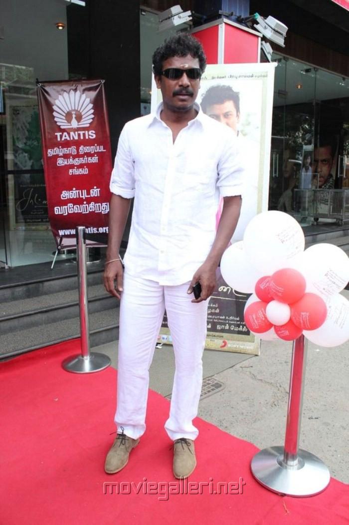Samuthirakani at Saattai Movie Audio Launch Stills
