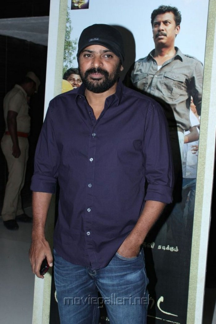 Ameer at Saattai Movie Audio Launch Stills