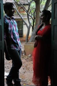 Ajmal Khan, Magima in Saattai Tamil Movie Stills