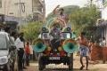 Sabarish Sunaina @ Mic Set Pandi Movie Stills