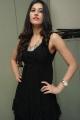 Telugu Actress Sabha Hot in Black Dress Photos