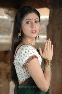 Actress Sada Cute Stills in Half Saree