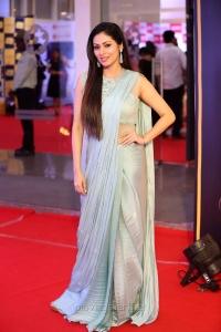 Actress Sada Saree HD Pics @ Mirchi Music Awards South 2017 Red Carpet