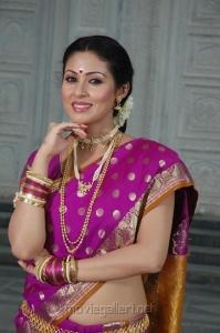 Maithri Movie Actress Sada in Saree Hot Stills