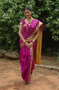 Actress Sada Saree Stills in Maithri Movie
