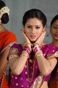 Actress Sada Saree Cute Images in Mythri Movie