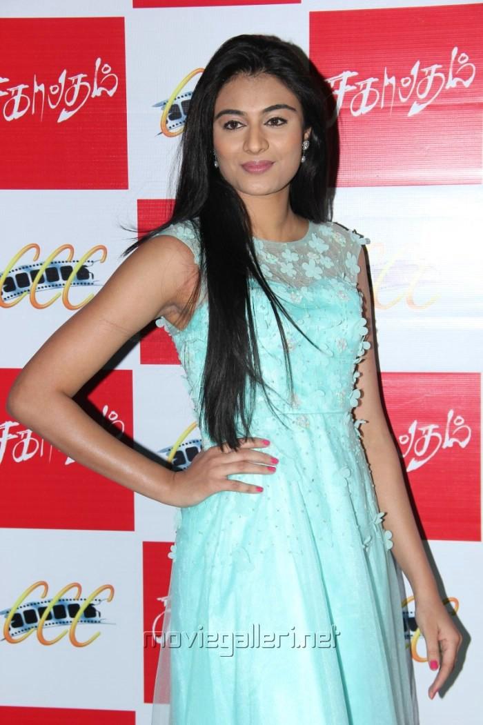 Actress Neha Hinge @ Sagaptham Audio Launch Photos
