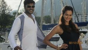 Shanmuga Pandian, Shubra Aiyappa in Sagaptham Movie Latest Stills