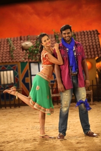 Shubra Aiyappa, Shanmugapandian in Sagaptham Movie Photos