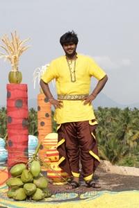 Hero Shanmuga Pandian in Sagaptham Movie Stills