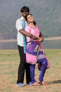 Shanmuga Pandian, Neha in Sagaptham Tamil Movie Stills