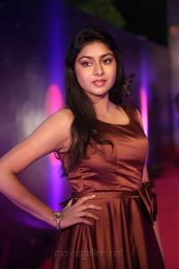 Actress Sai Akshatha Hot Stills @ Zee Apsara Awards 2018 Pink Carpet