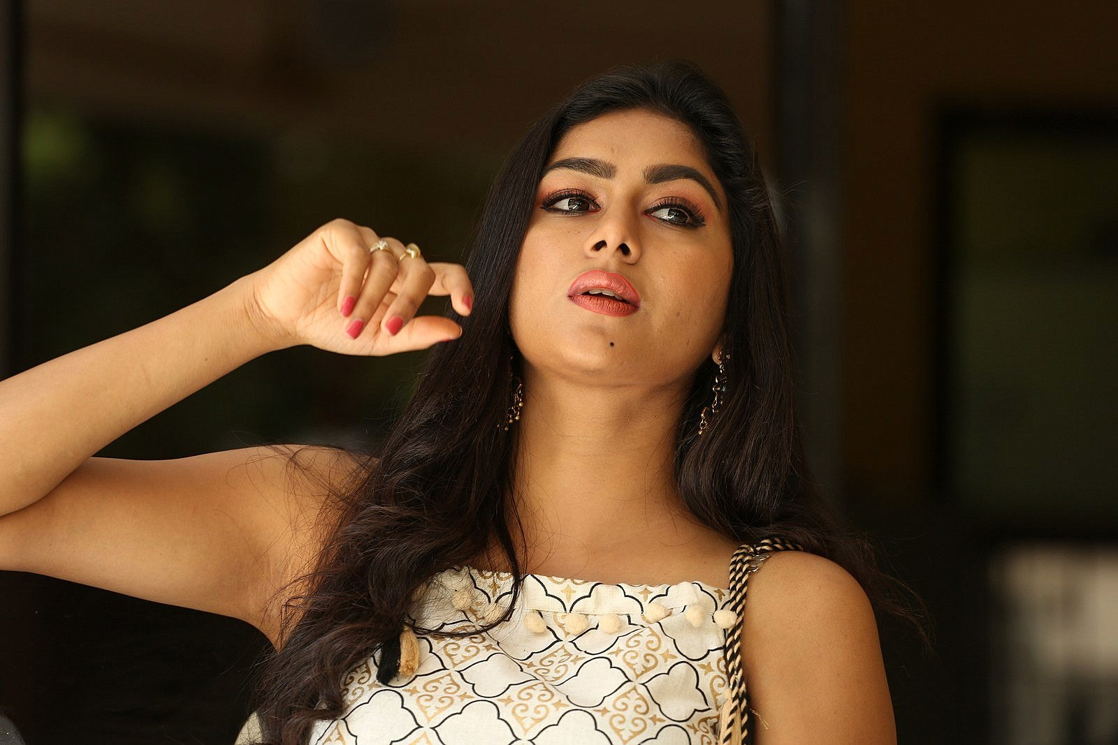 Actress Akshatha Srinivas New Photos @ Special Movie Trailer Launch