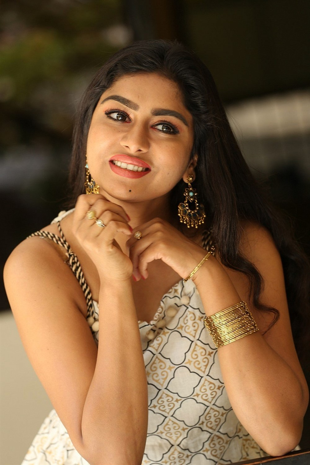Actress Sai Akshatha New Photos @ Special Movie Trailer Launch