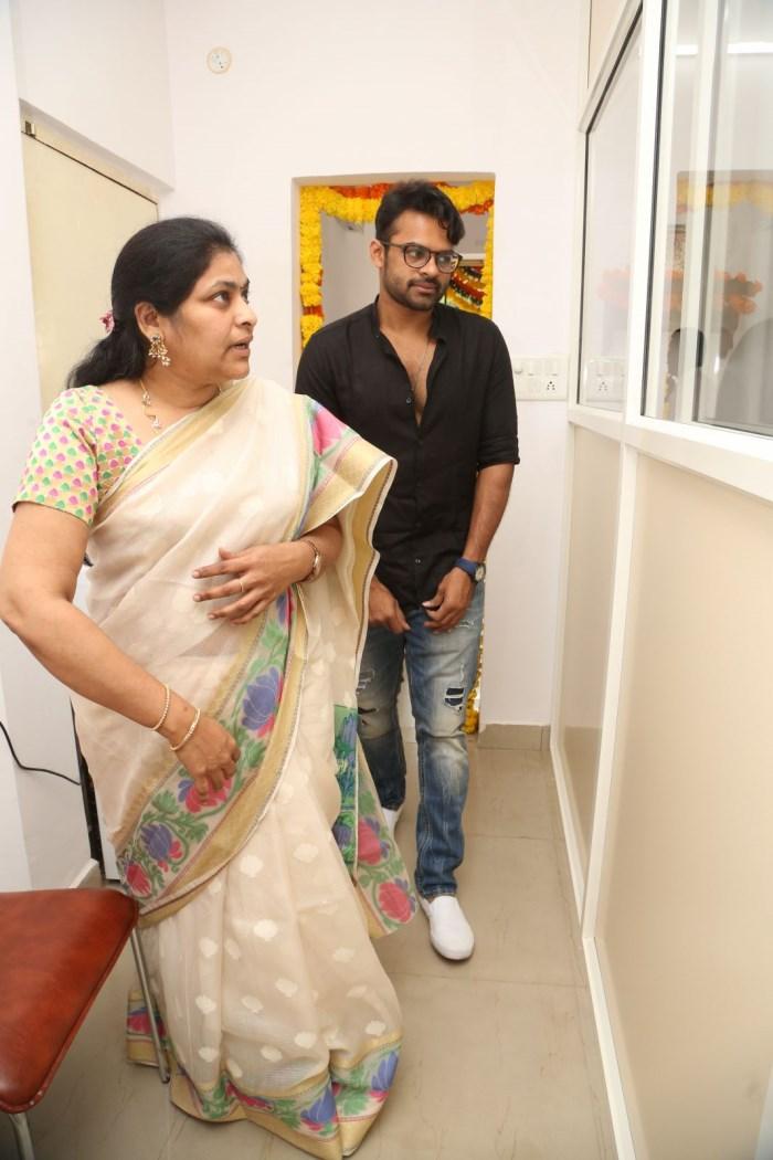 Sai Dharam Tej launches Care Well Clinics at Puppalaguda, Hyderabad