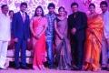 Shiva Balaji, Madhumitha at Sai Kumar Daughter Wedding Reception Photos