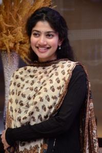 Actress Sai Pallavi New Cute Pics @ Love Story Success Meet