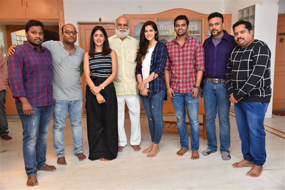 Sai Sushanth Chandini Simran Movie Opening Photos