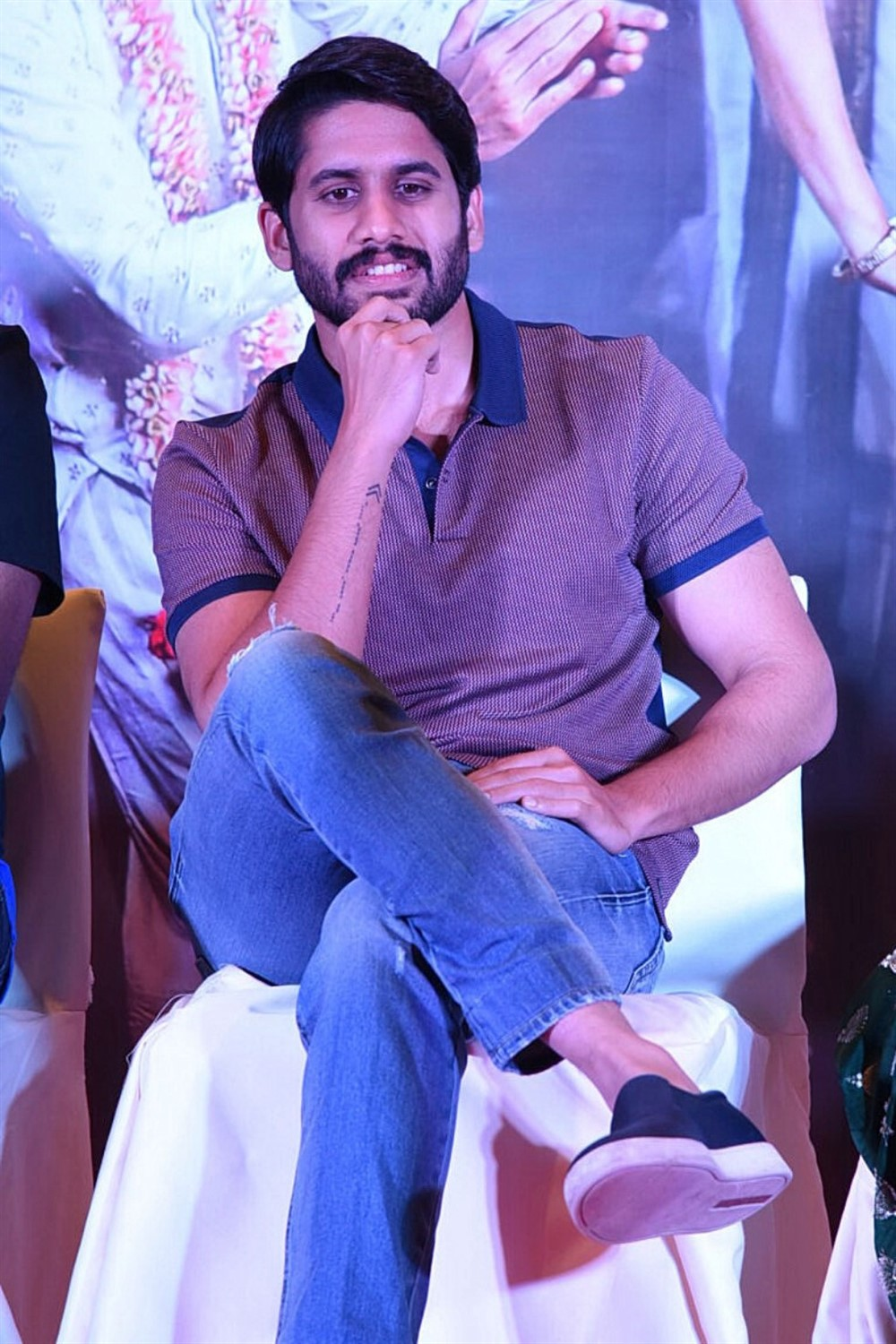 Actor Naga Chaitanya @ Sailaja Reddy Alludu Blockbuster Press Meet Stills