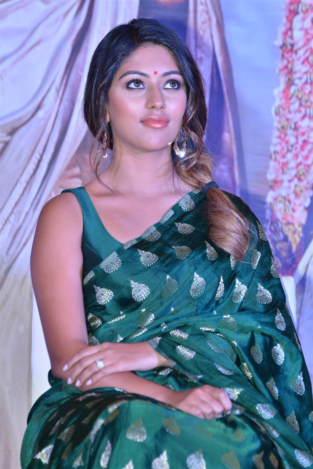 Actress Anu Emmanuel @ Sailaja Reddy Alludu Blockbuster Press Meet Stills