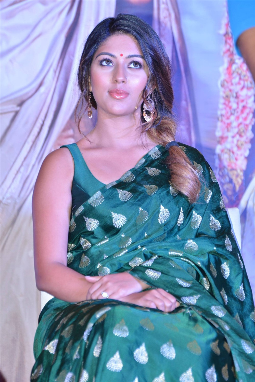 Actress Anu Emmanuel @ Sailaja Reddy Alludu Blockbuster Press Meet Stills