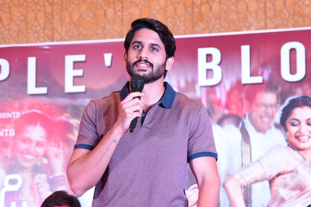 Sailaja Reddy Alludu Blockbuster Press Meet Stills