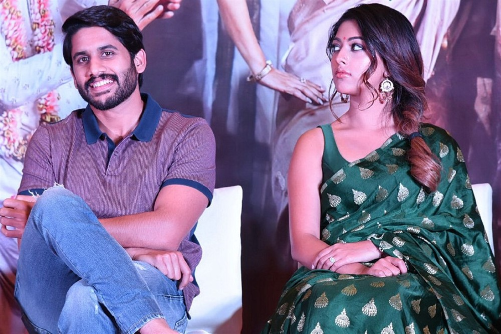 Shailaja Reddy Alludu Blockbuster Press Meet Stills