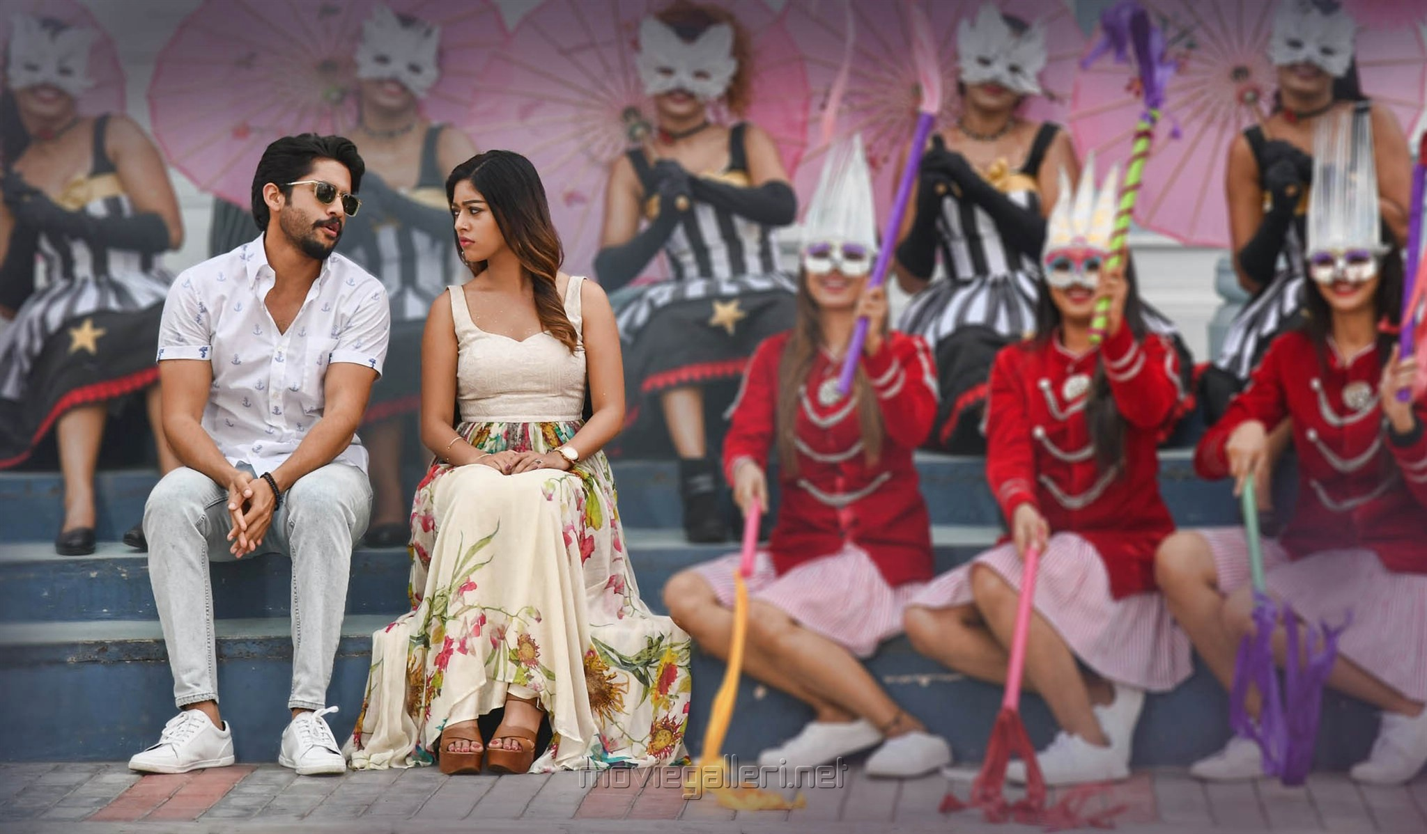 Naga Chaitanya, Anu Emmanuel in Sailaja Reddy Alludu New Photos HD