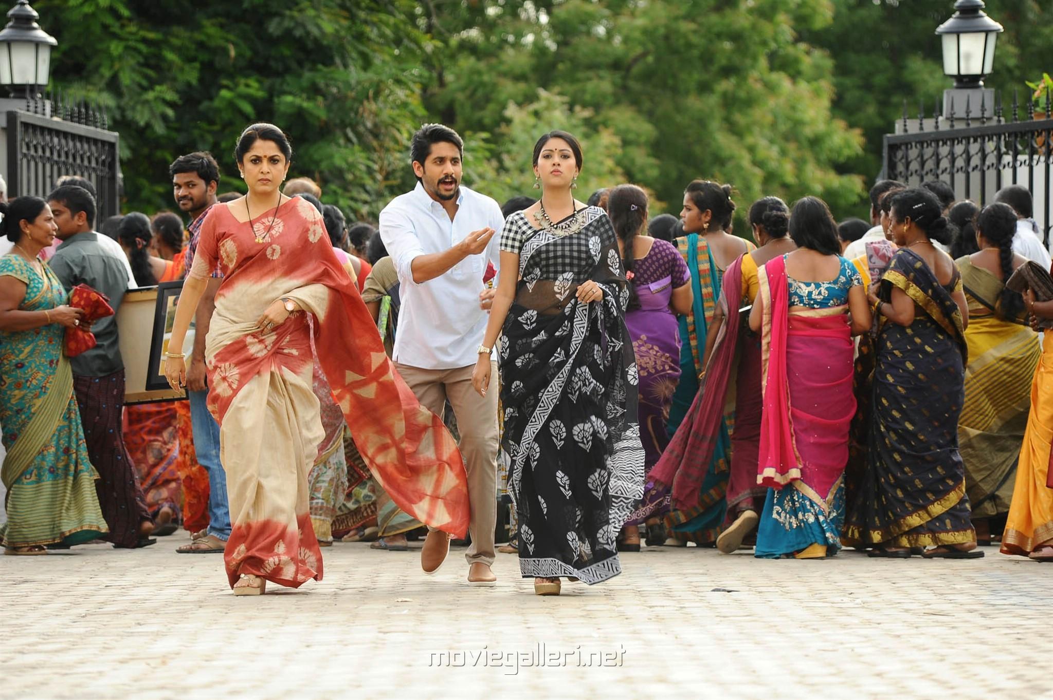 Ramya Krishnan, Naga Chaitanya, Anu Emmanuel in Sailaja Reddy Alludu New Photos HD