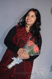 Singer Saindhavi @ Saivam Movie Audio Launch Stills