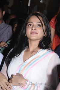 Actress Anushka @ Saivam Movie Audio Launch Stills