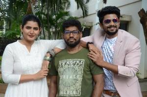 Ashima Narwal, Srinivas Veligonda, Sunny @ Sakala Gunabhi Rama Press Meet Stills