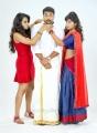 Trisha, Jayam Ravi, Anjali in Sakalakala Vallavan Appatakkar Movie Stills